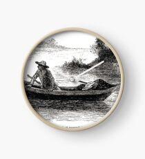 Achille Sirouy Mark Twain Les Aventures de Huck Huckleberry Finn illustration p047 Clock