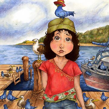 The Bird Girl of Pier 18 by stvfoolery