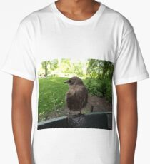 Bird Close-Up, New York City Long T-Shirt