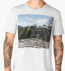 Of Slate Roofs and Gnarled Apple Trees Men's Premium T-Shirt