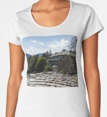 Of Slate Roofs and Gnarled Apple Trees Women's Premium T-Shirt