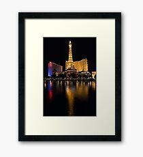 It is Not Paris Framed Print
