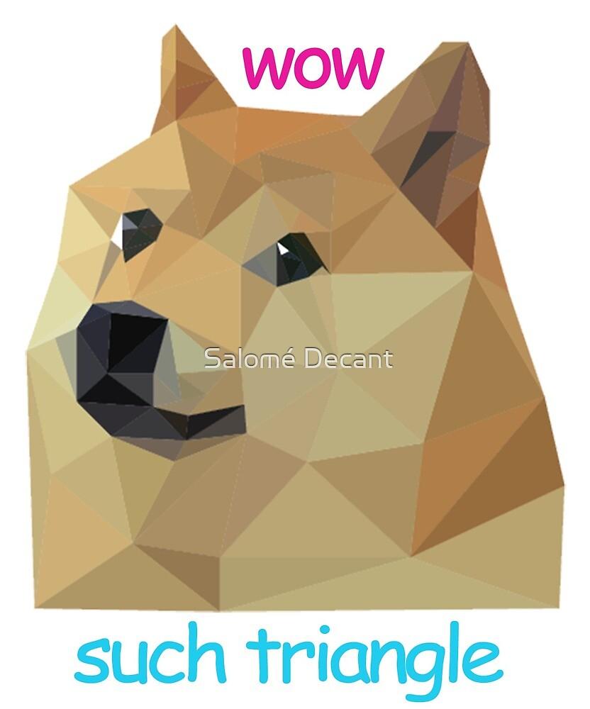 Triangle Doge by mowria