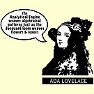 Ada Lovelace - Analytical Engine by suranyami