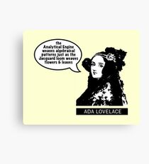 Ada Lovelace - Analytical Engine Canvas Print