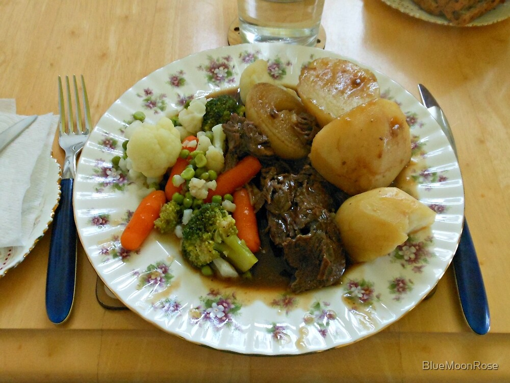 Oxtail and Vegetables von BlueMoonRose