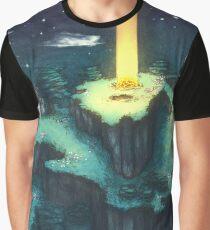Onett Hill - EarthBound Graphic T-Shirt