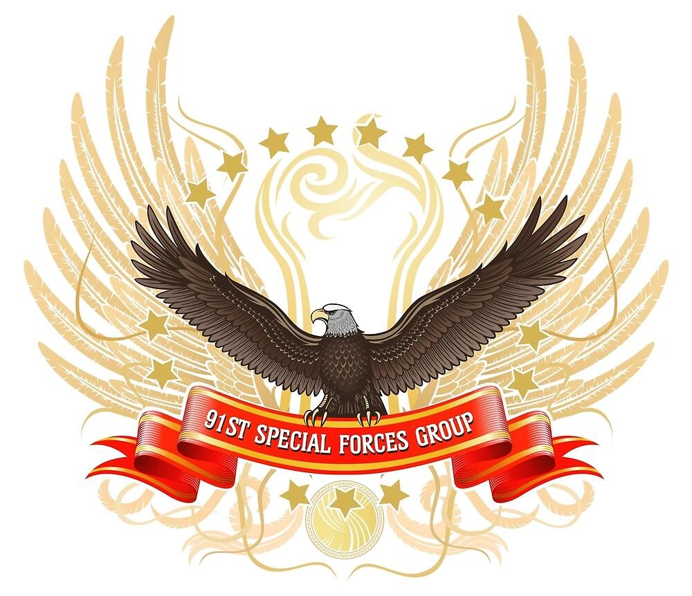 91st SFG Base Logo Desgins by OctaneApparel