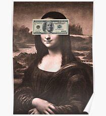 Mona Lisa Money Poster