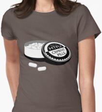 """Harden Up"" Cement Pills Women's Fitted T-Shirt"