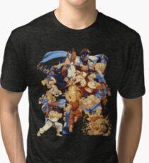 Camiseta de tejido mixto Street Pixelated Attacks