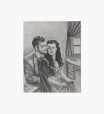 Gone With the Wind Boudoir Drawing II Art Board