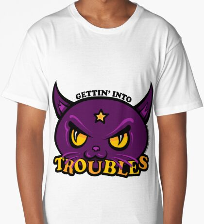 Star Belle - Gettin' Into TROUBLES Long T-Shirt