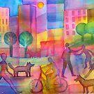 Lala-land ( Rainbow Land ) by Karin Zeller
