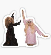 Katya und Trixie Sticker