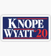 Knope Wyatt '20 Sticker