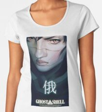 Ghost in the shell Women's Premium T-Shirt