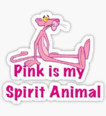 PINK is my Animal  Sticker