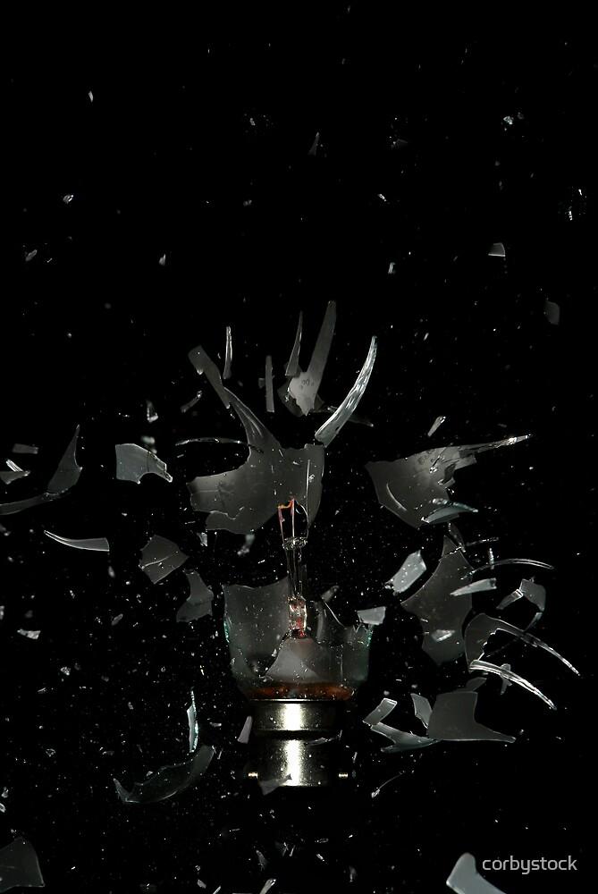 blown bulb by corbystock