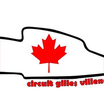 Circuit Gilles Villeneuve by alissarmanc