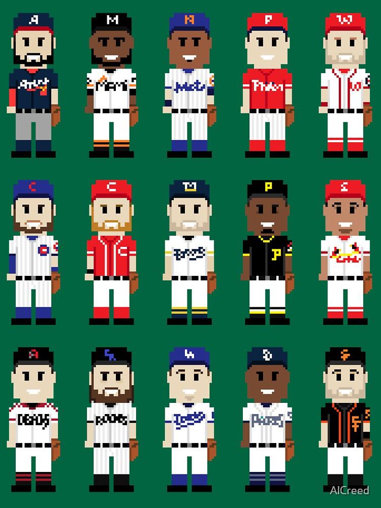 8-Bit National Baseball by AlCreed