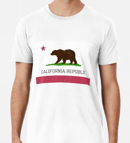 Vintage California Republic Flag Premium T-Shirt