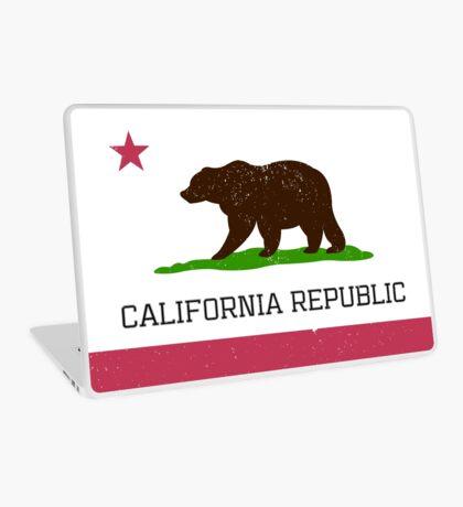 Vintage California Republic Flag Laptop Skin