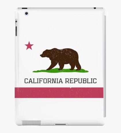 Vintage California Republic Flag iPad Case/Skin