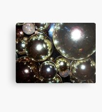 Golden Globes Metal Print