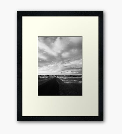 My View of Thirty First March - Early Evening (North) Framed Print
