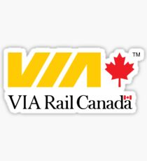 VIA Rail Canada  Sticker