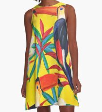 Paradiso - Birds A-Line Dress