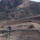 """Two Racers Over the Top @ Gorman, CA MX Racing Vet X Racing Series """"A little Close""""?, (118 Views as of May 19, 2010) by leih2008"""