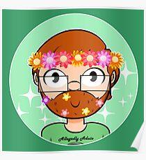 Flower crown Jack Poster