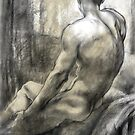 Male nude by Roz McQuillan