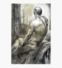 Male nude Photographic Print