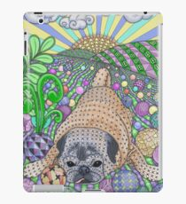 Precious Pug Puppy At Play iPad Case/Skin