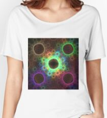 Psychedelic Algae | Fractal Art Women's Relaxed Fit T-Shirt