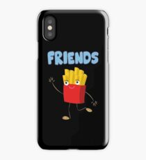 Matching Burger and French Fries Best Friends Design iPhone Case/Skin