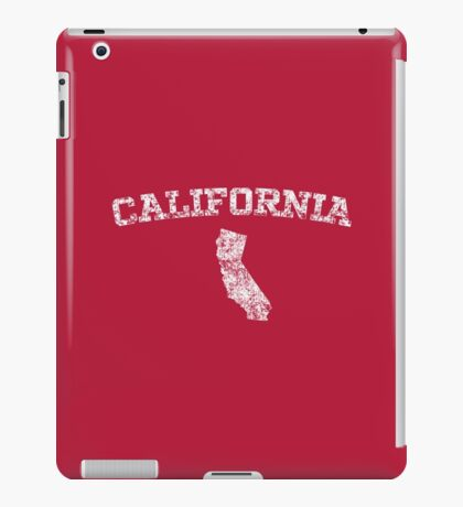 Retro & Vintage California States Shape iPad Case/Skin