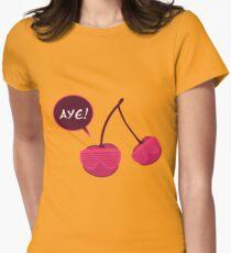 Aye Cherry Women's Fitted T-Shirt