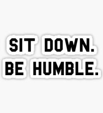 Humble Sticker