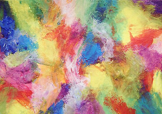 """""""In a Dream No.5"""" original abstract artwork by Laura Tozer by Laura Tozer"""