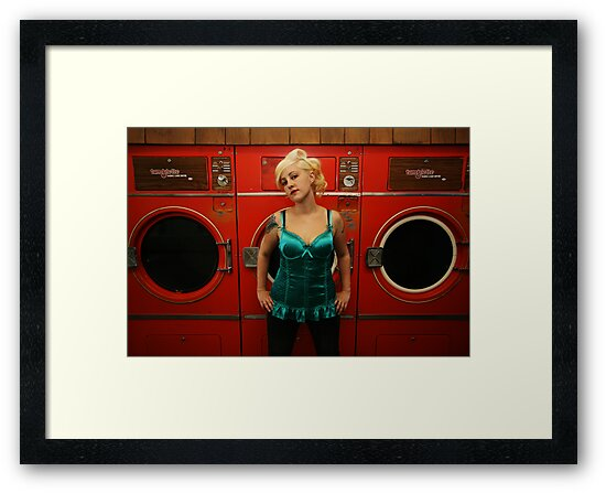 hot wash & tumble dry by Jo O'Brien