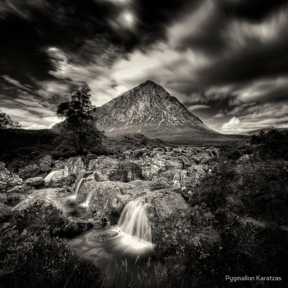 Archetypes II - Glen Etive Falls by Pygmalion Karatzas