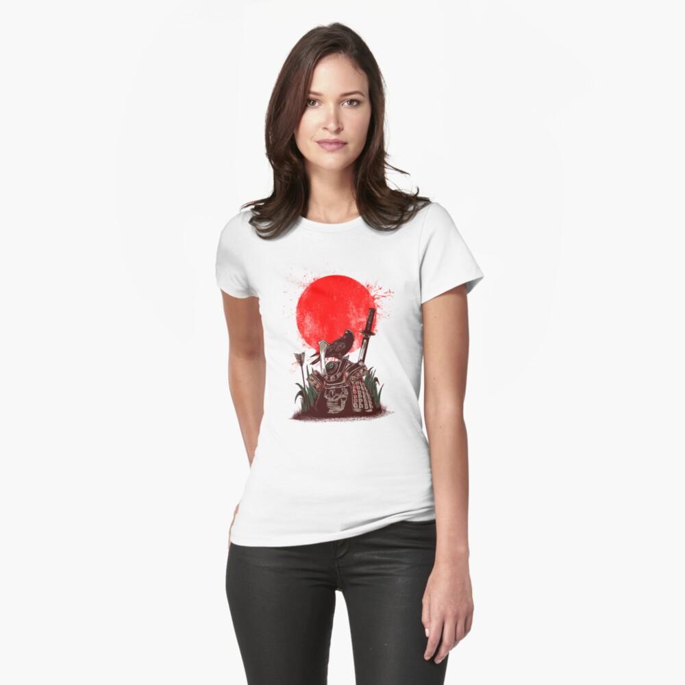 dead samurai Womens T-Shirt Front