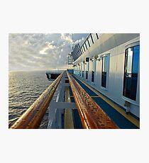 Leading Rails Photographic Print