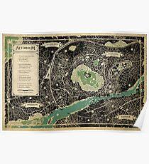Aeternum Map Poster