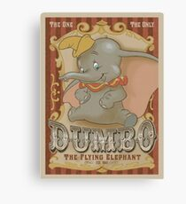 Dumbo the flying elephant Canvas Print