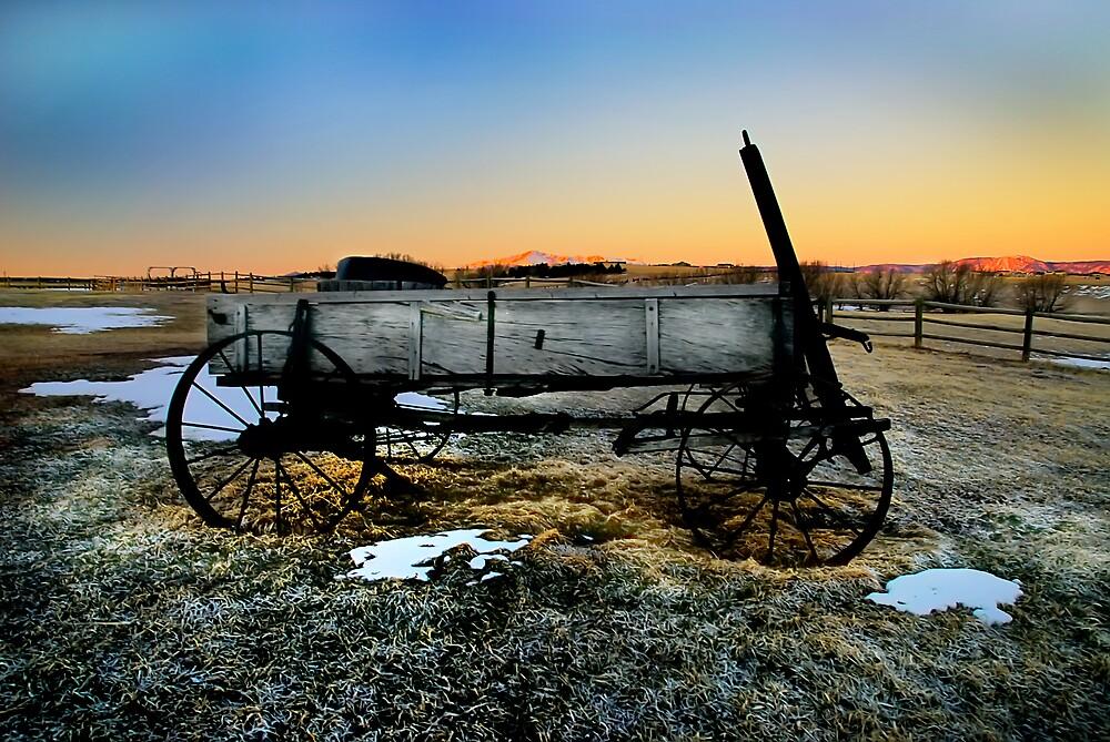Wagon Colorado by Melinda Kerr